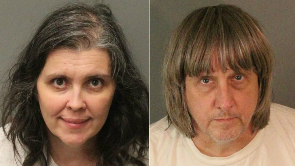 Police rescue 13 children chained in California home, parents charged with torture
