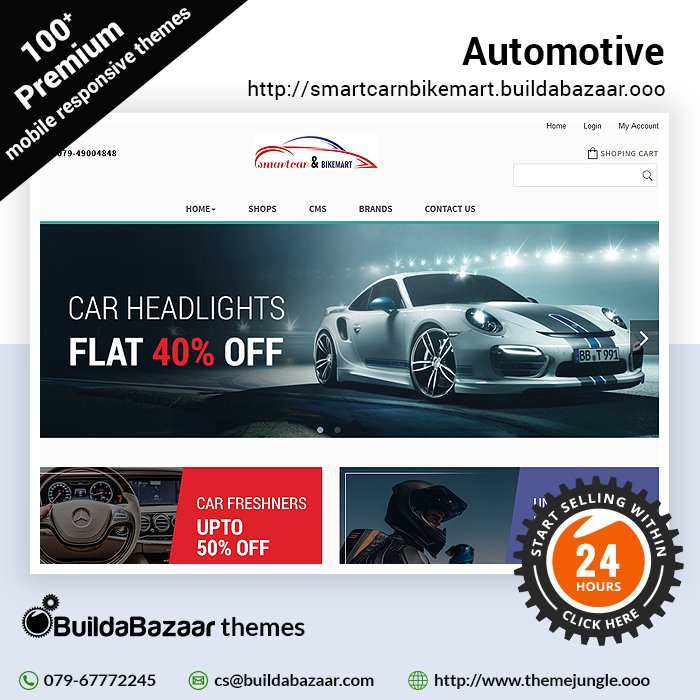 test Twitter Media - Imagine a website that runs as smoothly as all the products in your store. Create a fast and efficient website with the Automotive theme template at https://t.co/bH01QTwNml https://t.co/YKyouqSItQ #themejungles #ecomercethemes #infibeam #buildabazaar #buildabazaarthemes https://t.co/oFfylxO4wY