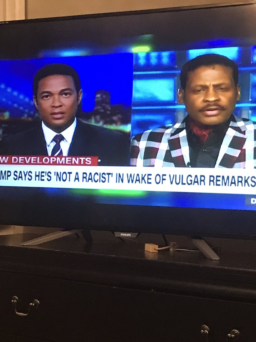 @donlemon is looking at MLK's nephew like he wants to say some ignorant shit.  After hearing what he said I'm in solidarity with Don.  He definitely had me saying somethings that are out of my character.  I knew it was all bad when I seen the blazer.  He got me 😡🔥💯 https://t.co/IazwRPxHnb