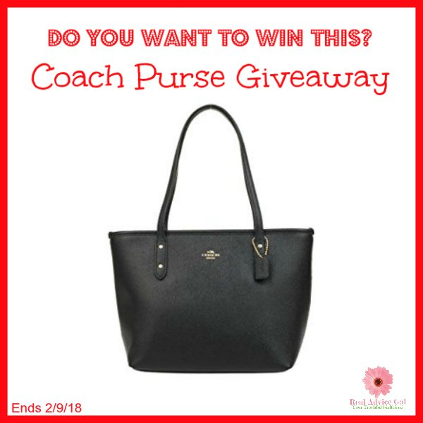 #Win a Beautiful Coach Purse! US ends 2/9, Enter Daily -