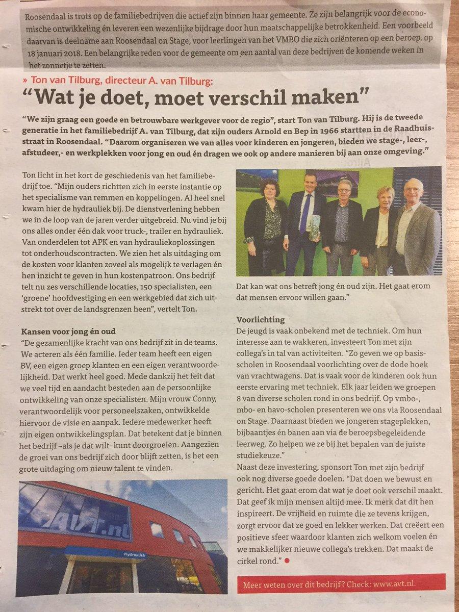 test Twitter Media - Hier het artikel uit de Roosendaalse bode #DagvandeOndernemer #familiebedrijf #tweegeneraties https://t.co/iX06IFTKF6