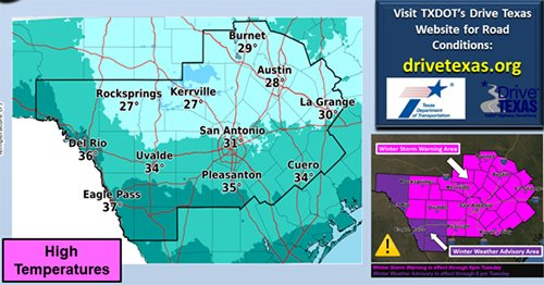 WEATHER: Winter storm warning until 6 p.m.; drivers to face risks of ice, winds