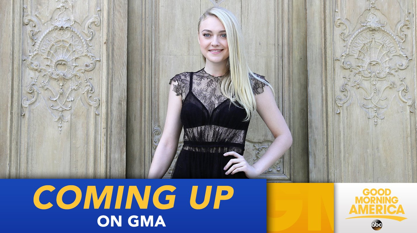 COMING UP: Dakota Fanning joins us live to talk about the much-anticipated limited series @thealienisttnt! https://t.co/7n9wtQoKTv