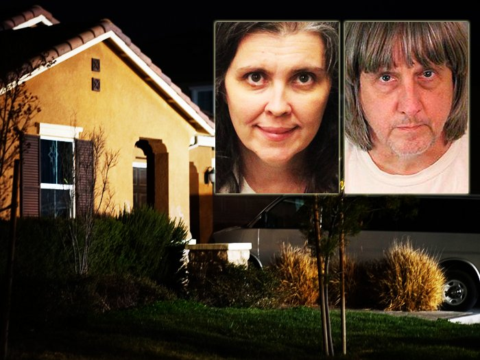 HOUSE OF HORRORS: Parents accused of locking up 13 children