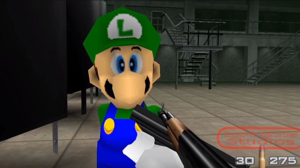 #GoldenEye007 gets even wilder with a #SuperMario mod: https://t.co/7Q9h5nGb6t https://t.co/Wf1WpjV0Cg