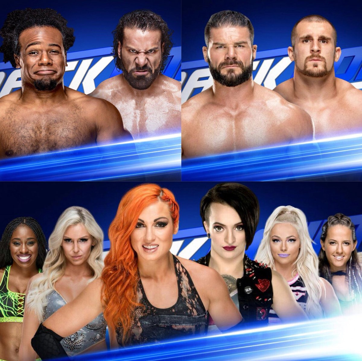 Tonight, We Will Determine  The Two Finalists Who Will  Battle At The #RoyalRumble  For The US Championship   Plus, There Will Be A Six Woman Tag Team Match  On #SDLive {16th Jan, 2018} https://t.co/rNGZUqpoSk
