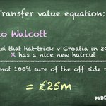 RT : Theo Walcott could cost Everton as...