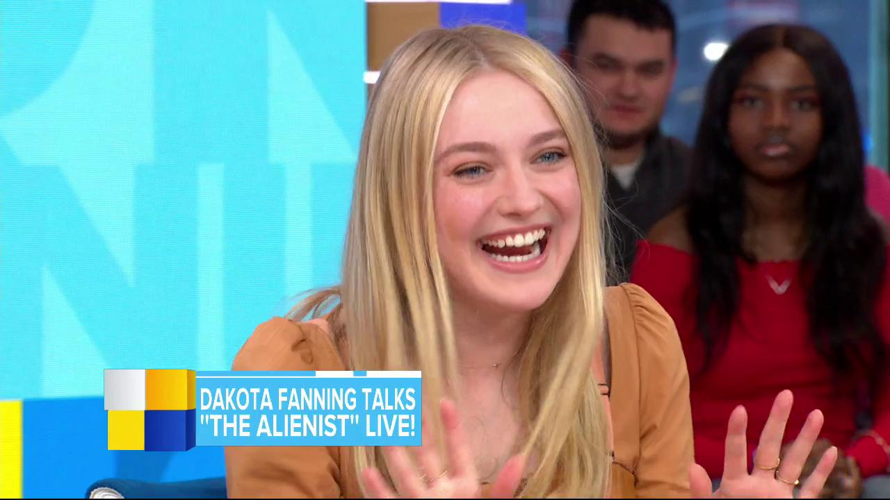 .@RobinRoberts to Dakota Fanning: 'It has been wonderful, a pleasure, watching you grow up.' https://t.co/dveG8OLjot