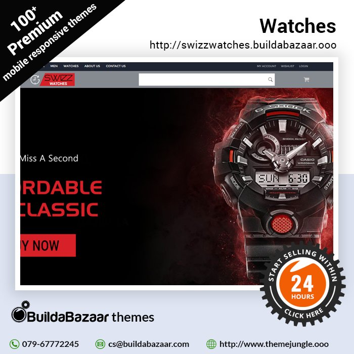 test Twitter Media - Sit back & relax as ur online store works efficiently like clock work. With the Watches theme @ https://t.co/bH01QTwNml you can rest assured that every intricate detail of ur website will be perfect. https://t.co/vICQphmB0b #infibeam #buildabazaar #themejungle #buildabazaarthemes https://t.co/uKO33Tp1aE