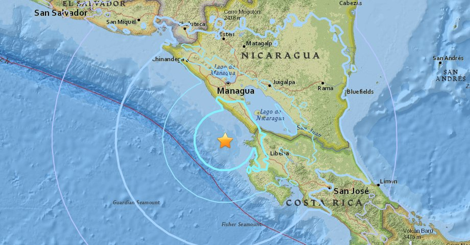 ÚLTIMA HORA Sismo de magnitud 5,8 sacude Nicaragua https://t.co/0ozXMpjXZk https://t.co/JUwg5vfclm