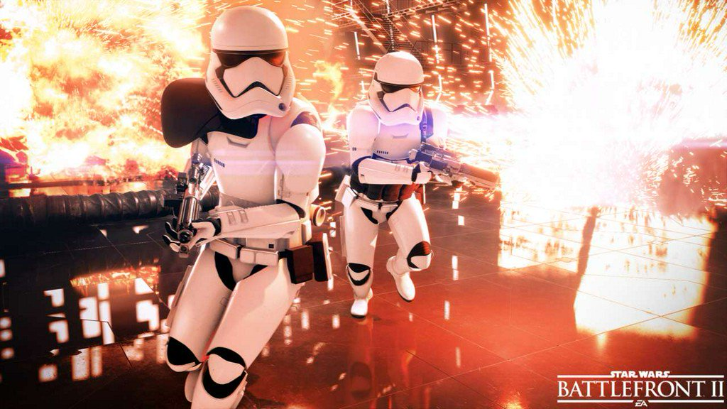 There's a new Star Wars Battlefront 2 update out now, here's what you get https://t.co/pYErswzztl https://t.co/PzbNYIlOzX