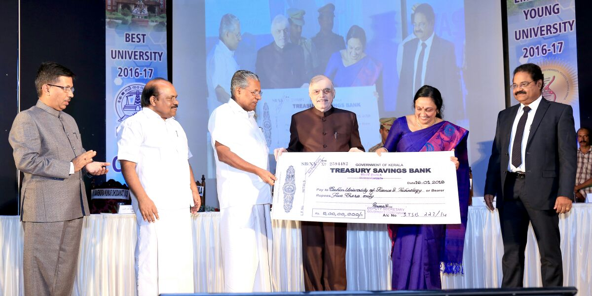 test Twitter Media - Presented the third Chancellor's Award of Rs. 5 crore to Cochin University of Science & Technology [CUSAT] and the first Chancellor's Award (Rs. One crore) for the Best Emerging Young University to the Kerala Veterinary and Animal Sciences University  on 16 Jan @CMOKerala https://t.co/jdOiGCzyaO