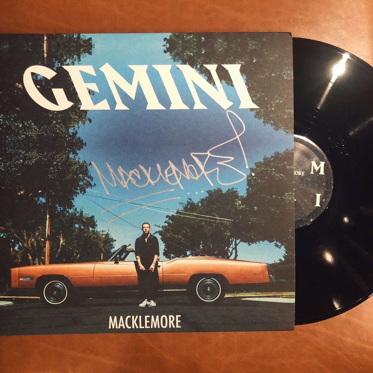 Gemini On Vinyl. Preorder now, ships February 1st. First 200 copies autographed! https://t.co/Vc2QR1rRDq https://t.co/4w3JHJ7xAP