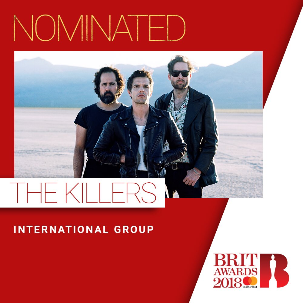 Very honored to be considered for a Brit Award. https://t.co/wRmSZwE4vK
