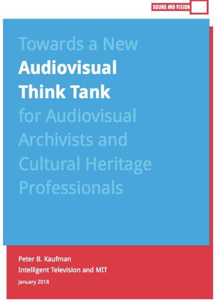 "test Twitter Media - New White Paper: ""Towards a New Audiovisual Think Tank for #Audiovisual #Archivists and #CulturalHeritage Professionals"" https://t.co/HJMCNvtNwO https://t.co/gKV35wYD6b"