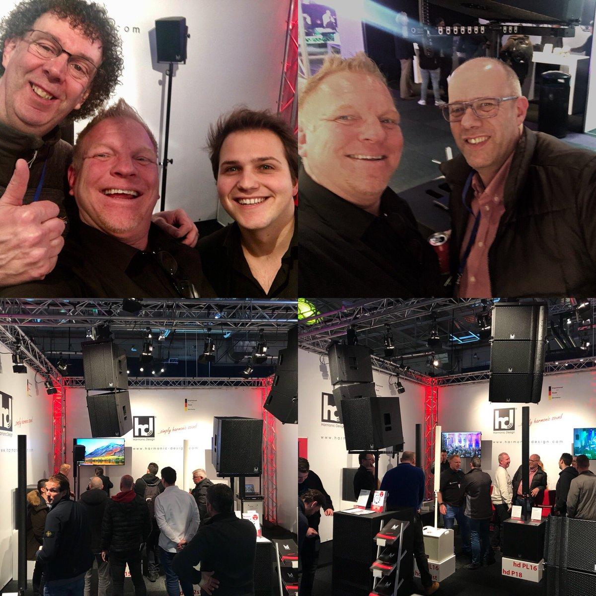 test Twitter Media - @CUE2018 is the place to be voor av nieuwtjes. Stand 313, @RedProductionNL toont de modellen van #harmonicdesign in nederland. Compact en zeer krachtig. Vele zijn al geweest. Kom ook lang bij @RedProductionNL exclusief Benelux importeur. De koffie staat klaar. https://t.co/PAyD94Vghr