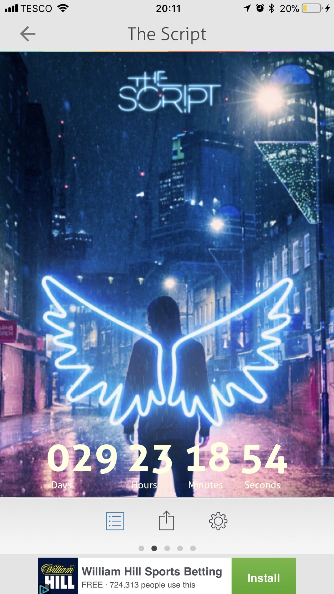 29 days to go!! ���� #thescriptfamily #freedomchildtour @thescript @TheScript_Danny https://t.co/Fhv5VM2IaW