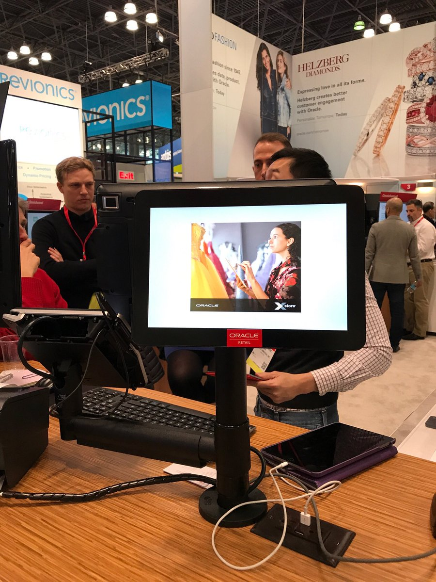 test Twitter Media - Visit our partner @OracleRetail at booth 3521 see how our mounting complements their POS solutions https://t.co/JryLMw4uEm