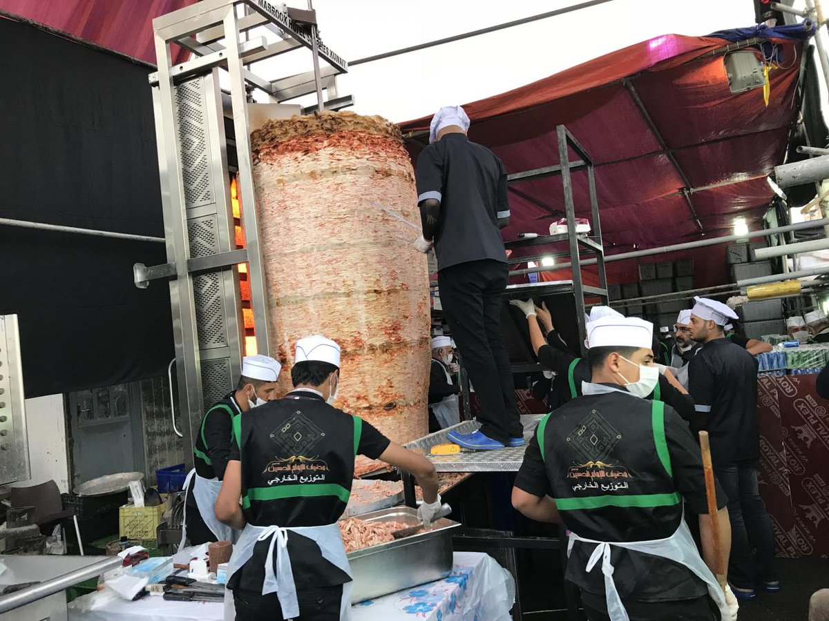 In Iraq, one man's battle for global recognition of the biggest shawarma ever made