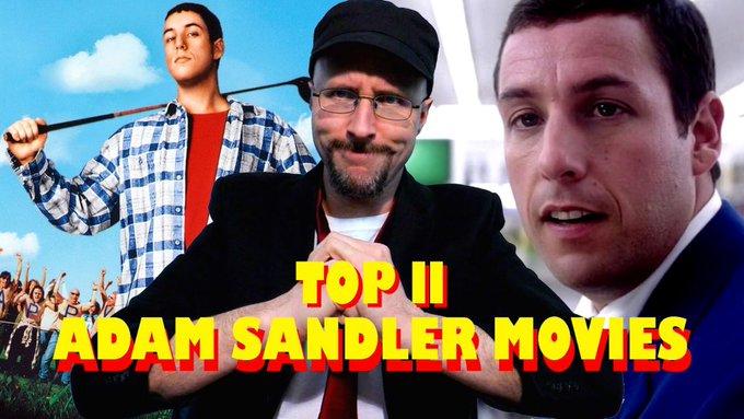 Top 11 GOOD Adam Sandler Movies - Nostalgia Critic - https://t.co/QivObL9H2p now on CA. https://t.co/s0lcbJccwT