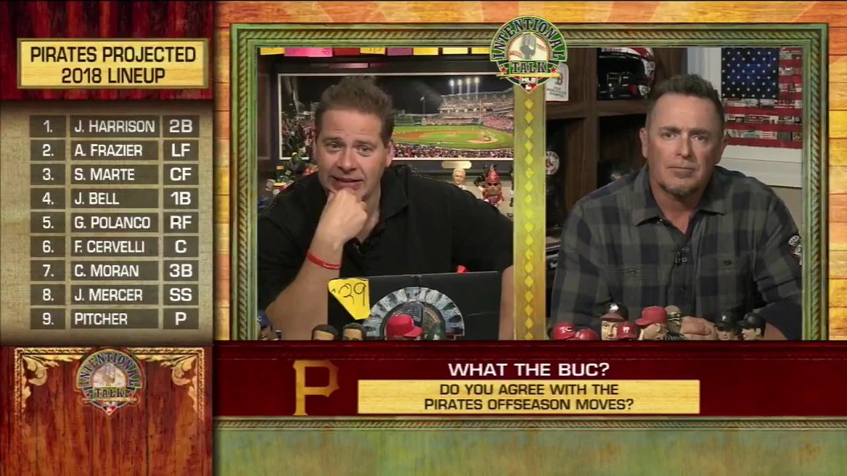 What do YOU think of the #Pirates offseason moves so far? #IntentionalTalk https://t.co/2Tvqmlc2sx