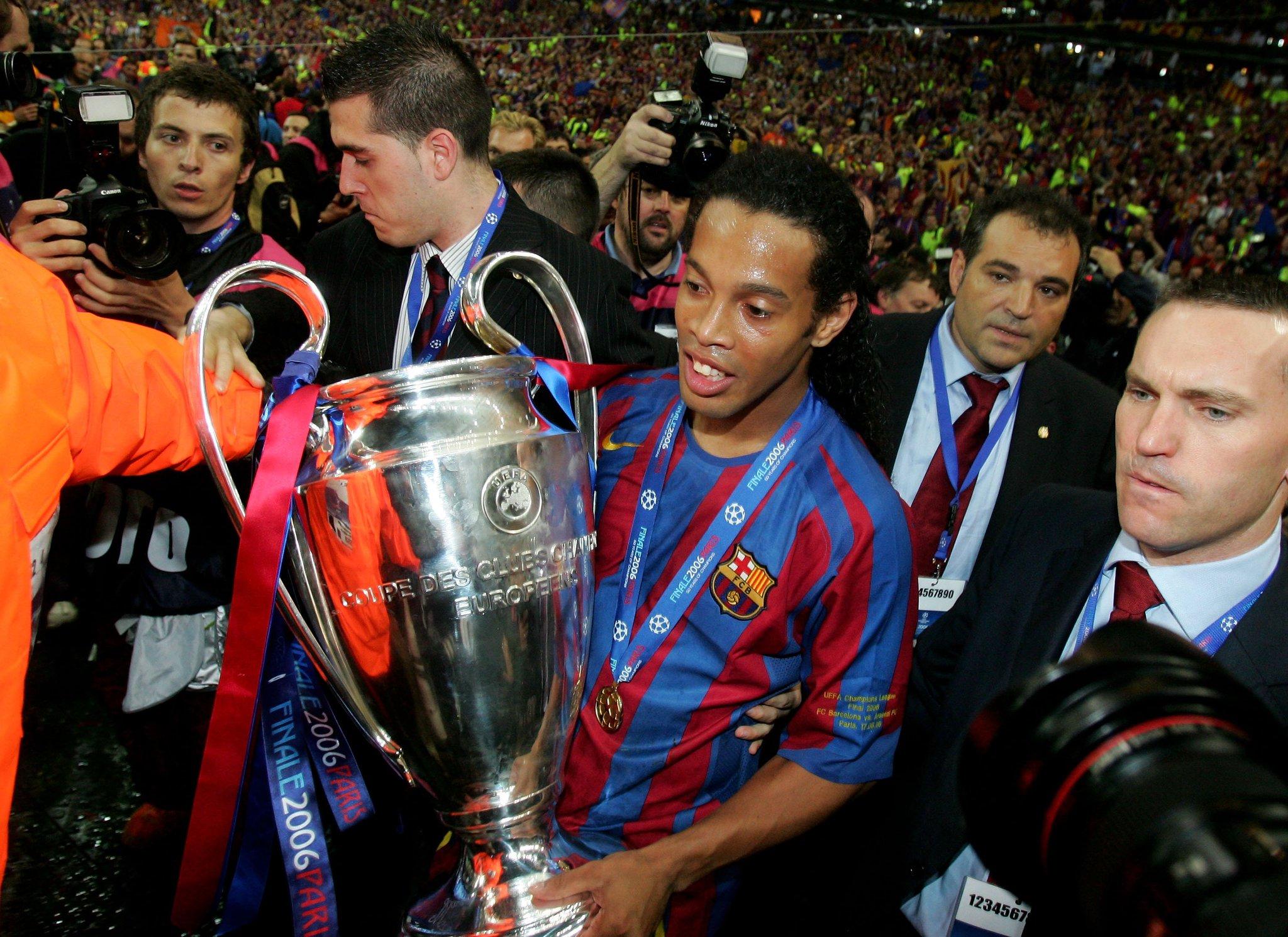 2006 #UCL winner Ronaldinho has retired from football �� https://t.co/EJTHCqcoFd