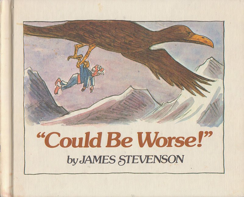 "test Twitter Media - New retro #BookReview ""Could Be Worse!"" by James Stevenson https://t.co/VXBFtkDqQQ https://t.co/OYGETXNUxx"