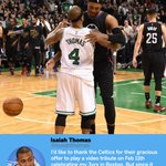 RT : Isaiah Thomas doesn't want to ge...