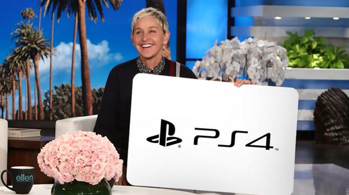 Ellen DeGeneres Giveaway: Win a Playstation 4