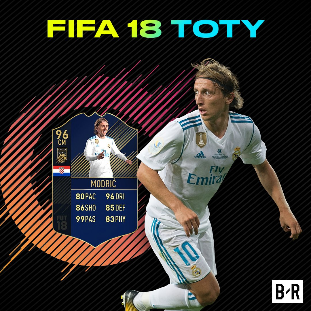 Honored to be nominated for th real madrid