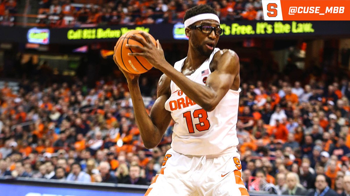 Chukwu from Howard, puts 'Cuse up 13, 1:35 left https://t.co/53LReUL8H9
