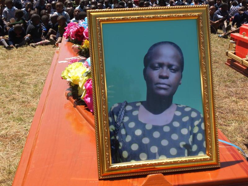 Tears as nine Nyandarua road crash victims are burried