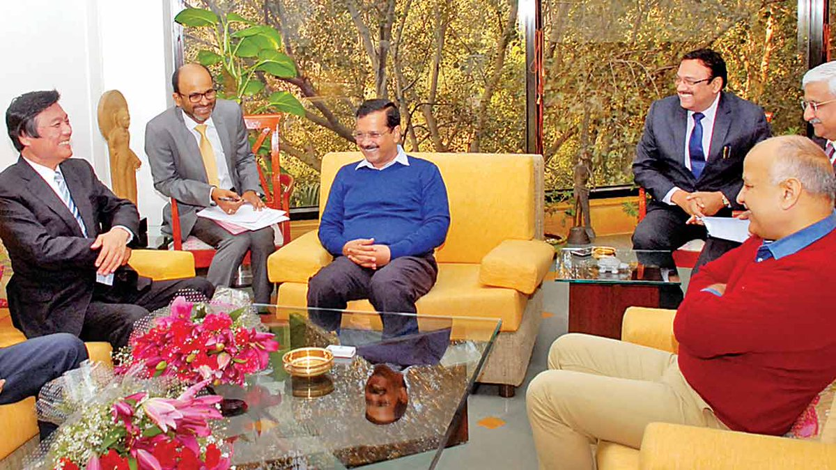 Delhi govt signs MoU with Fukuoka to combat air pollution