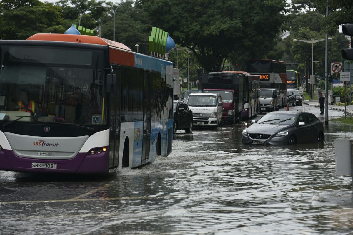 Blocked drain intensified Tampines flash flood: PUB