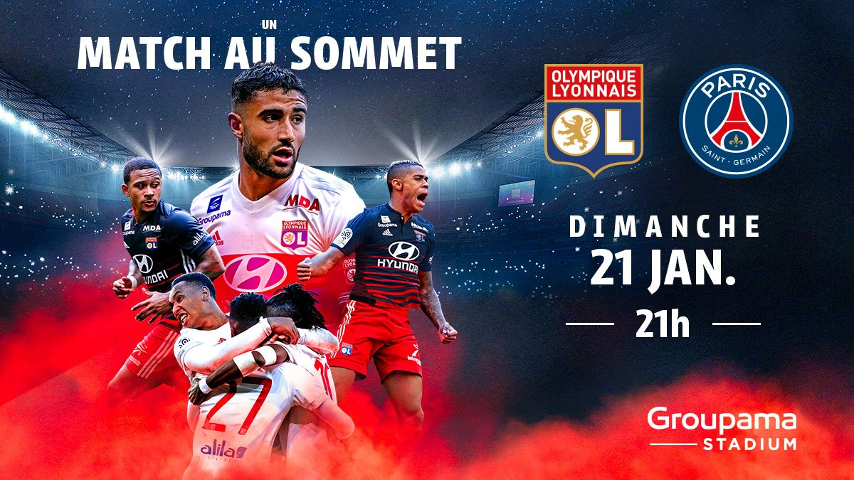 RT @OL: 🎁 Gagnez 2 places en loge pour OL / PSG 🎁 ➡️ #RT et #follow @OL https://t.co/AHUWKLx6zR