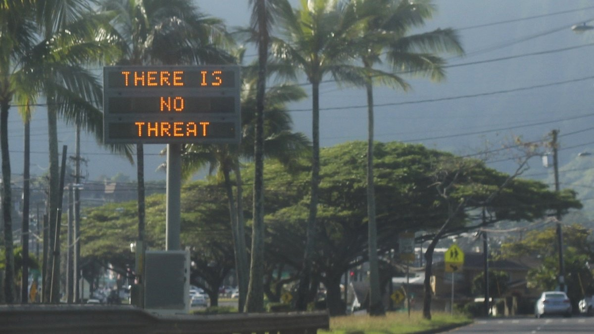 Man suffered heart attack after false missile alert in Hawaii