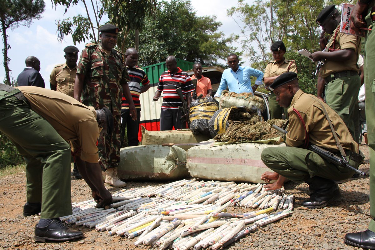 Police launch manhunt for people linked to impounded bhang