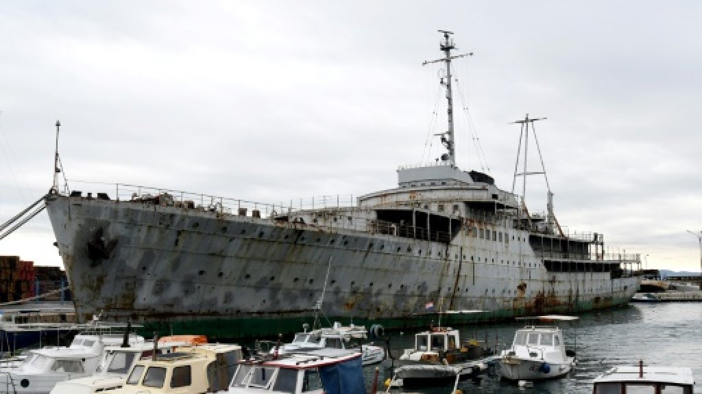 Tito's legendary, rusting yacht set for overhaul