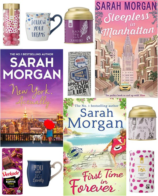 Books by Sarah Morgan, Tea, Candy, Mugs & Chocolate Giveaway