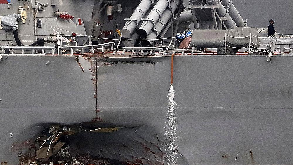 Navy to convene court-martial proceedings against sailors in crashes