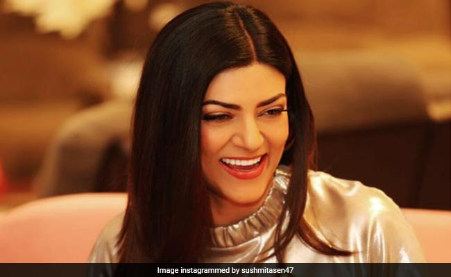 Try To Decode Sushmita Sen's Expression Before You Read Her Caption