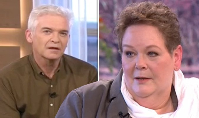 Phillip Schofield CUTS interview after Anne Hegerty bombshell: 'That came out of nowhere' https://t.co/18pJCVMTgh https://t.co/Nj5W9X0VbN