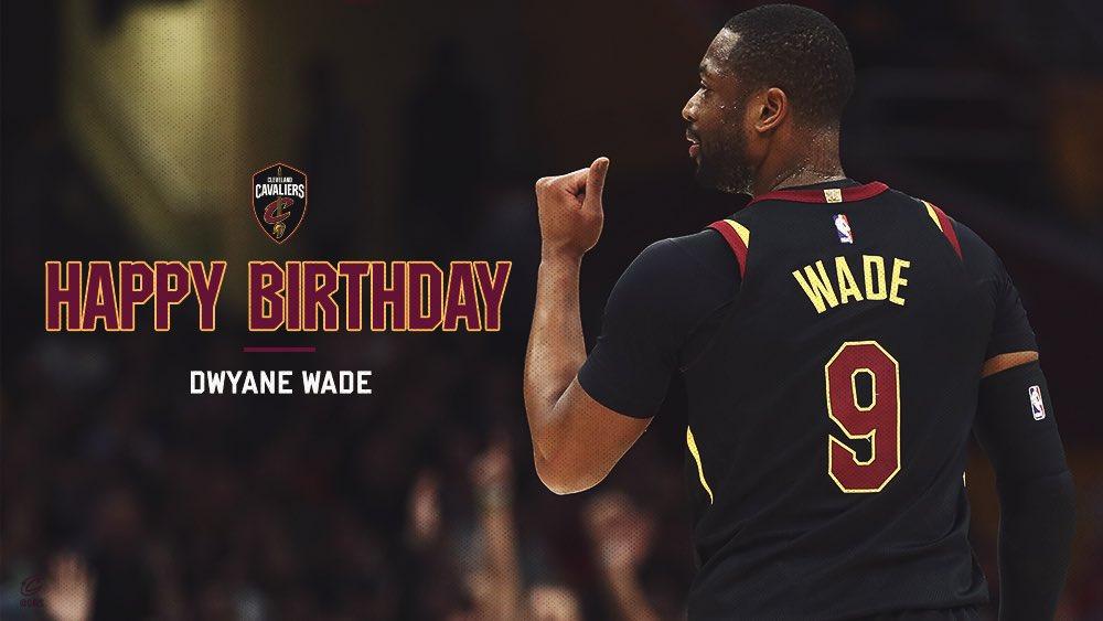 Happy Birthday, @DwyaneWade! ������   RETWEET to help wish D-Wade a HBD.   ⚡️PHOTOS → https://t.co/LQsU4uzsJc https://t.co/tAeTW6RFvN
