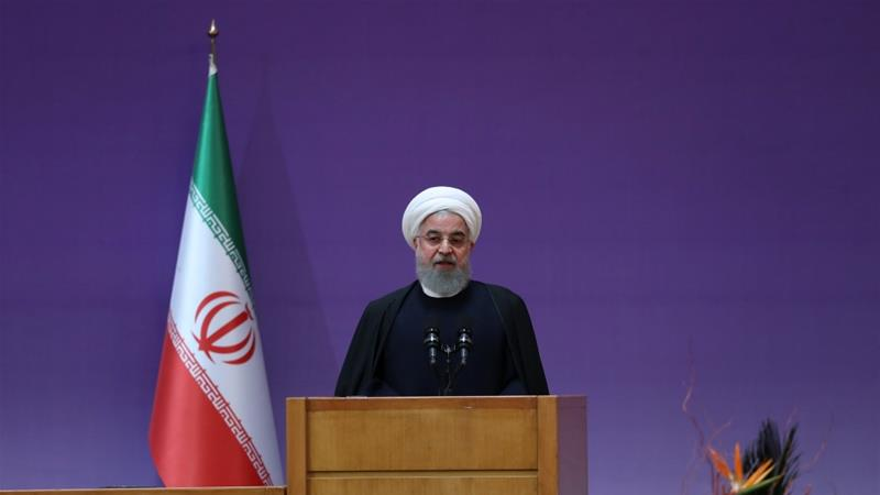 Gulf pressure on Qatar unacceptable and unfair, says Iran's President Hassan Rouhani