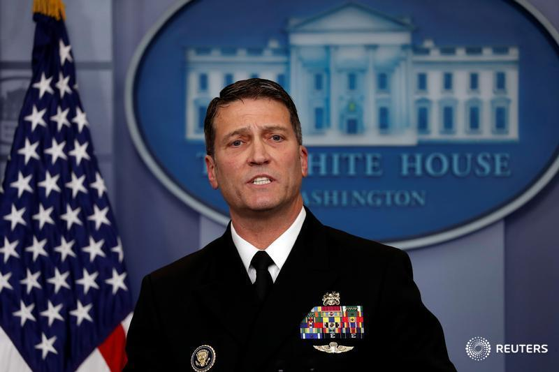 Trump is fit for duty, but should hit the gym: White House doctor https://t.co/ZxUvkXMylG https://t.co/PkavueF6KA