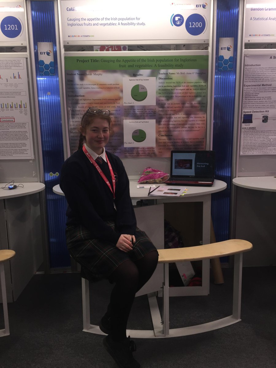 test Twitter Media - Congratulations to Sarah Murphy @colaistetreasa highly commended for @BTYSTE project on 'ugly' fruit & veg with @owenjump @estherpurkiss Producers think we dislike ugly products but consumers don't care, especially students! Well done Sarah on helping to reduce global food waste. https://t.co/oCmYkIlUkp