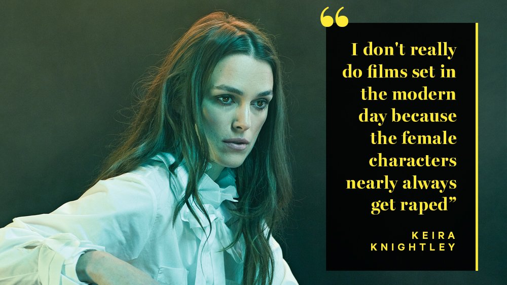 Keira Knightley gets candid in this week's Variety cover story https://t.co/A8CKbbMpEU https://t.co/CIQg3eWI9N