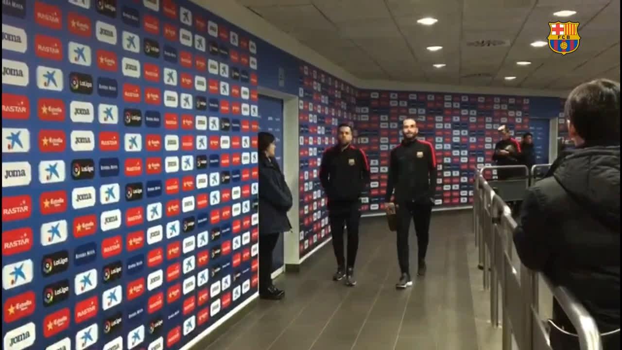 �� Barça �� RCDE Stadium #CopaBarça https://t.co/j9loO42fdZ