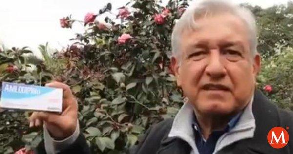 ▶ VIDEO: @lopezobrador_ receta 'amlodipino' a @EPN para bajar la presión https://t.co/GyTOLHJzEx https://t.co/WsthZp7u5I