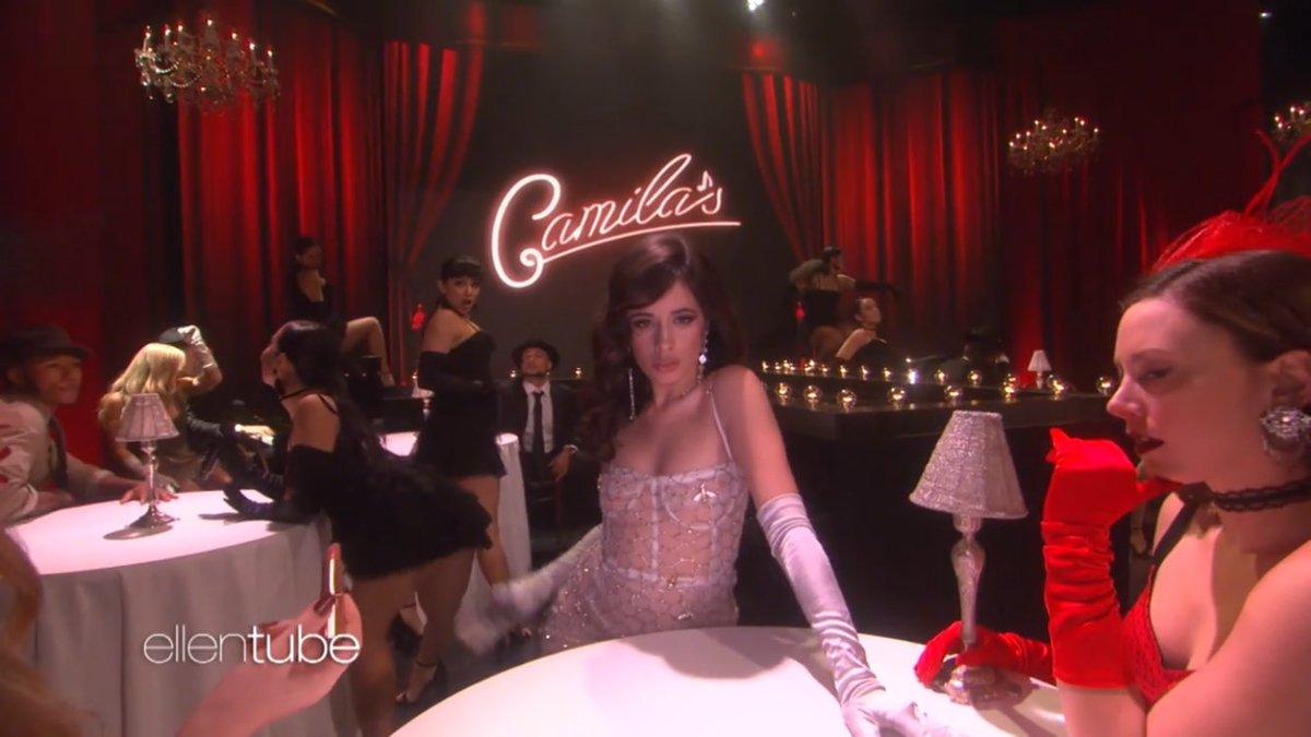 #CamilaOnEllen